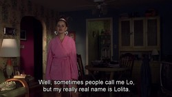Well, sometimes people call me Lo, 
