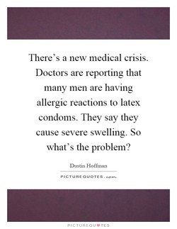 There's a new medical crisis. 