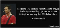 I quite like Low, the band from Minnesota. They're 