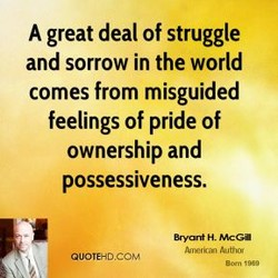 A great deal of struggle 
