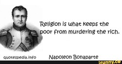 Religion is what Keeps the 