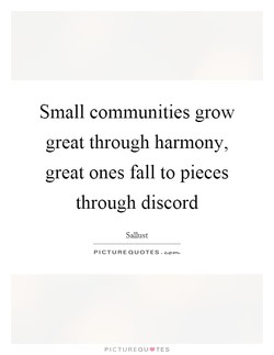 Small communities grow 