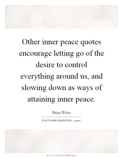 Other inner peace quotes 
