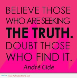 BELIEVE THOSE 