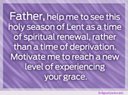 Father, help me to see this 