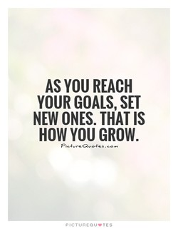 AS YOU REACH 