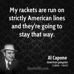 my rackets are run on 