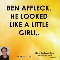 BEN AFFLECK, 