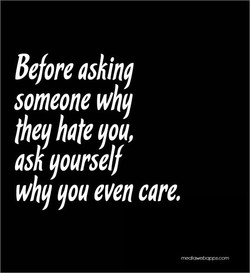 Before asking 