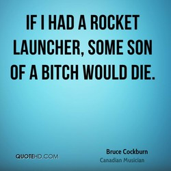 IF I HAD A ROCKET 