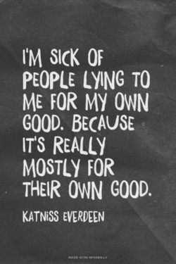 IM SICK OF 
