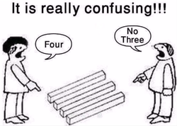 It is really confusing!!! 