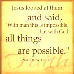 Jesus looked at them 