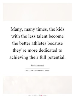Many, many times, the kids 