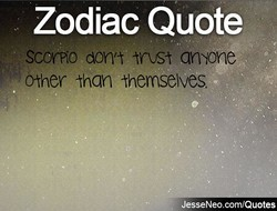Zodiac Quote 