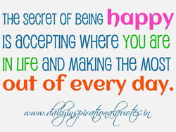 THe secreT OF BelNG ba ppy 