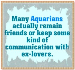 Many Aquarians I 