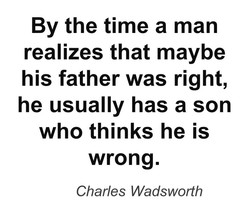 By the time a man 