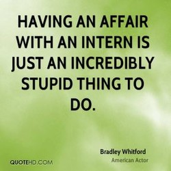 HAVING AN AFFAIR 
