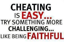 CHEATING 