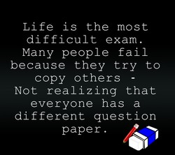 Life is the most 