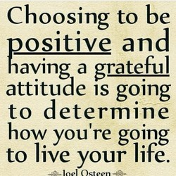 Choosing to be 