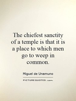 The chiefest sanctity 