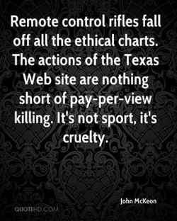 Remote control rifles fall 