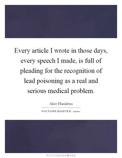 Every article I wrote in those days, 