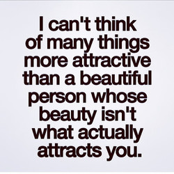 I can't think 