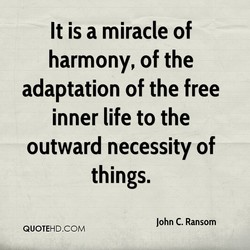 It is a miracle of 