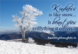 is like snow... 