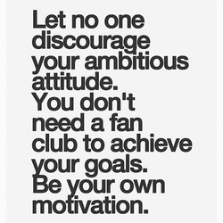 Let no one 