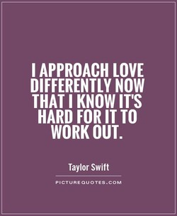 I APPROACH LOVE 
