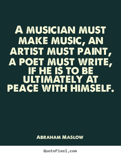 A MUSICIAN MUST 