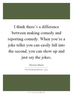 I think there's a difference 