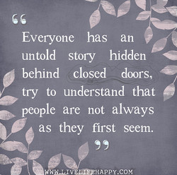 Everyone has an 