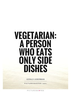 VEGETARIAN: 