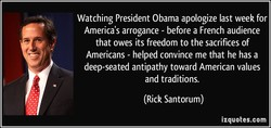 Watching President Obama apologize last week for 