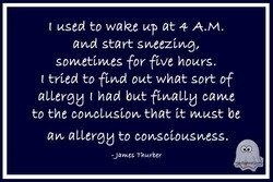 t used to wake up at 4 A.M. 