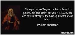 The royal navy of England hath ever been its 