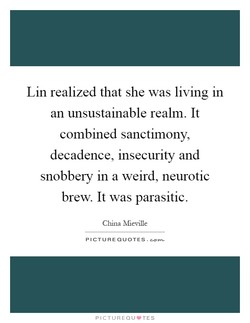 Lin realized that she was living in 