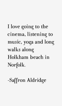 I love going to the 