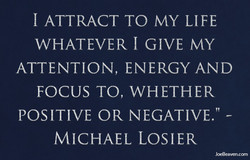 1 ATTRACT TO MY LIFE 