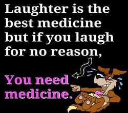 Laughter is the 