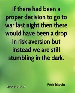 If there had been a 