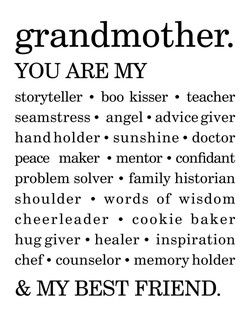 grandmother. 