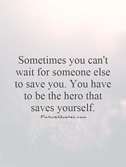 Sometimes you can't 