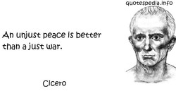 An unjust peace is better 