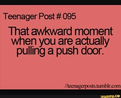 Teenager Post # 095 